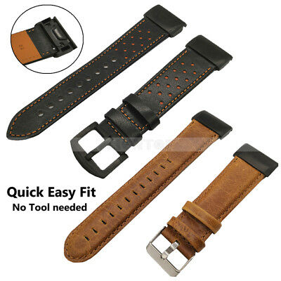 For Garmin Fenix 3 5 5X 5S Nylon/Silicone Strap Replacement Watch Band Bracelet 6