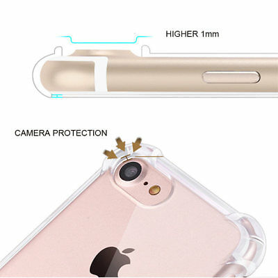 for iPhone Xs 8 7 6s Plus 5s 11 XR Case Cover Silicon Shockproof Tough Hard Gel 10