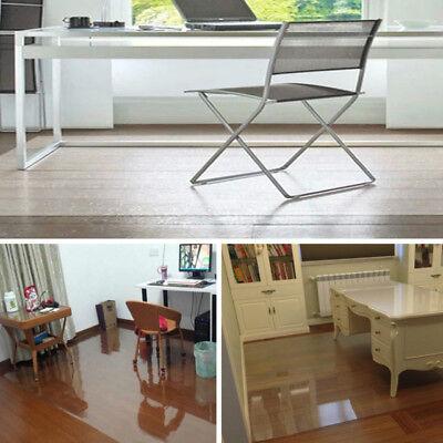 Bodenschutzmatte Bürostuhlunterlage Bodenmatte Stuhlunterlage Transparent Klar Bodenschutzmatten