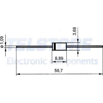 10 PCS 9x12mm 250ppm resistenza power metal Vishay pr02 180k 2w 5/% ø3