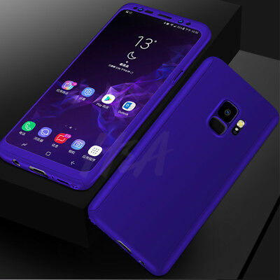 360 Full Cover Phone Case For Samsung Galaxy S10 S8 Plus Note 9+Screen Protector 9
