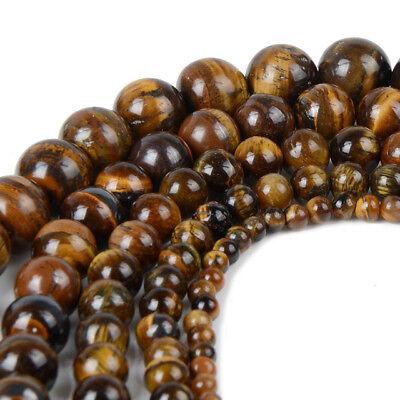 4 6 8 10mm Lot Bulk Natural Stone Lava Loose Beads DIY Bracelet Jewelry Necklace 12