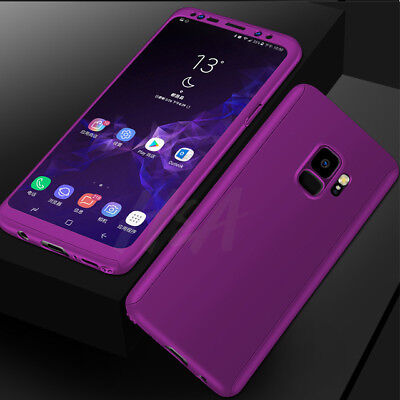 360 Full Cover Phone Case For Samsung Galaxy S10 S8 Plus Note 9+Screen Protector 11