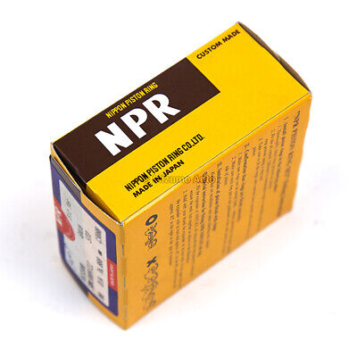 NPR Piston Rings Fit 91-05 Dodge Chrysler Plymouth Mitsubishi 3000GT 6G72 6G72T
