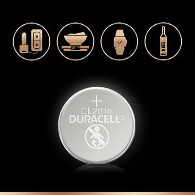 2 x Duracell CR2016 3v Lithium Coin Cell Button Battery (BUY 2 SETS GET 1 FREE) 5