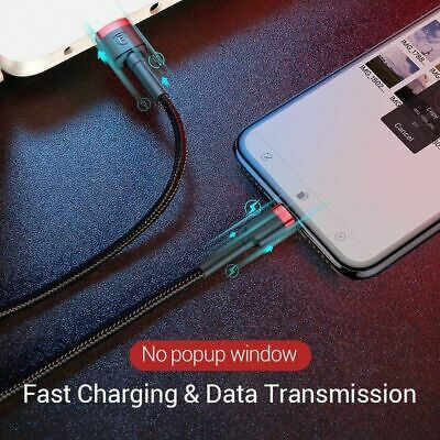 MFI Certified Baseus Fast Charging Lightning Data Sync Cable Apple iPhone iPad 2