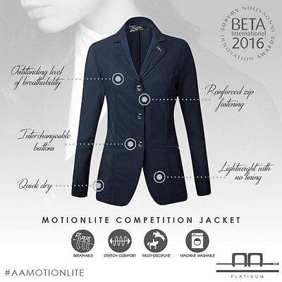 Horseware AA Ladies MotionLite Motion Lite Mesh Competition Show Jacket XXS-XXL 12