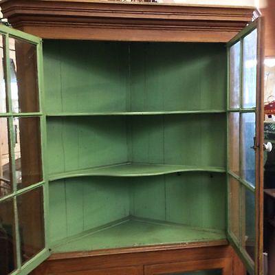 A Victorian corner cupboard 8