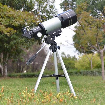 Telescopio Monoculare Astronomico Rifrangente Treppiede Cavalletto F300/70Mm 5