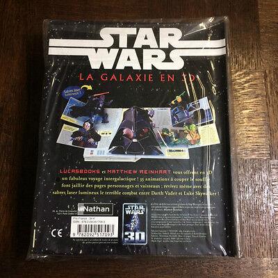 Star Wars La Galaxie En 3D - Reinhart - Livre Animé - Pop Up 2