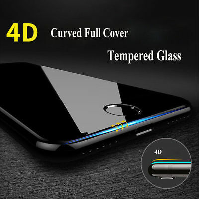 Iphone 3D - 4D - 5D Curved Edge To Edge Tempered Glass Screen Protector