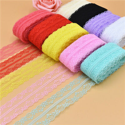 10yards Pretty 3.5 cm Lace Ribbon lace embroidered trim trimmings for sewing DIY 2