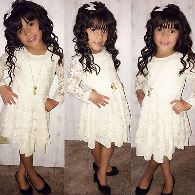 fccb9452095c BABY KIDS GIRLS Skirt Lace Princess Lovely Short Tulle Party Fancy ...