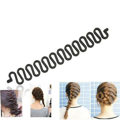 New Hair Styling clip bâton Bun Maker Braid Outil Accessoires cheveux 6