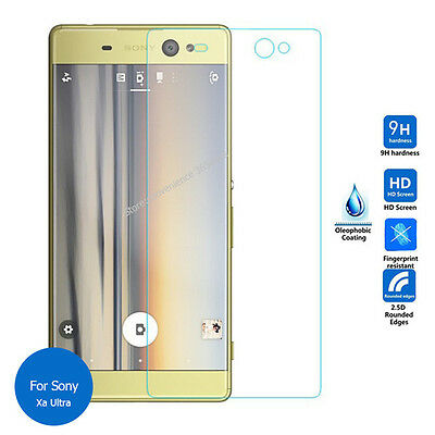 (1 / 2Pk)Premium Tempered Glass Screen Protector for Sony Xperia X & Performance 3