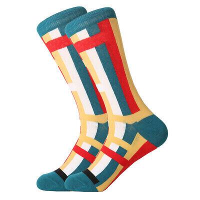 Mens Cotton Socks Novelty Animal Fruit Colorful Funny Casual Dress Wedding Socks 7