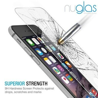2 x GENUINE NUGLAS Tempered Glass Screen Protector For Apple iPhone X 11