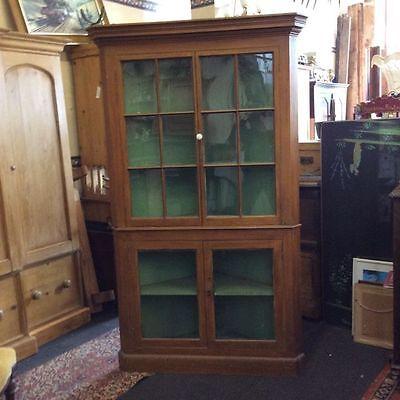 A Victorian corner cupboard 7