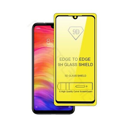 For Xiaomi Redmi Note 7 Full Cover 9D Curved Tempered Glass Screen Protector d6 8
