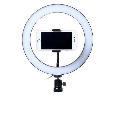 Luz LED Regulable, Anillo de Luz LED de 26cm + TRIPODE 2,1mts nuevo 2700K/5500K 6