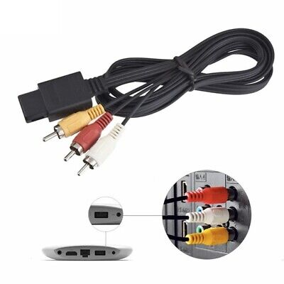 AV Video Audio Cable Lead Wires for Nintendo N64 GameCube System NGC GC SNES PAL 4