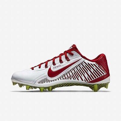 898e261384ee ... Nike Vapor Carbon 2.0 Elite Td Pf Football Cleats White Red 631425-160  Mens 16