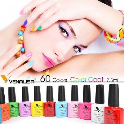 CANNI Venalisa Nail Gel Art Design Manicure 7.5Ml Soak Off Enamel Polish LED UV 4