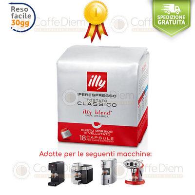 Caffè illy Iperespresso 72 Capsule Cialde Tostatura Media Rossa 100% Arabica 2