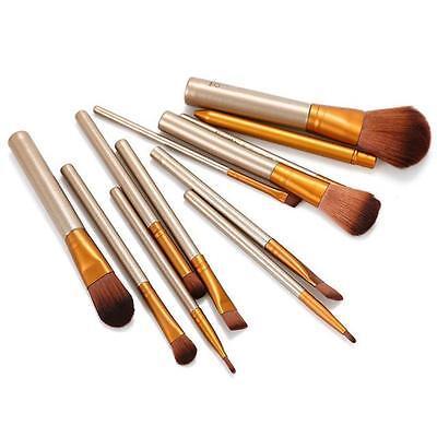 12pcs Kabuki Professional Make up Brush Brushes Set Makeup Foundation Blusher 5