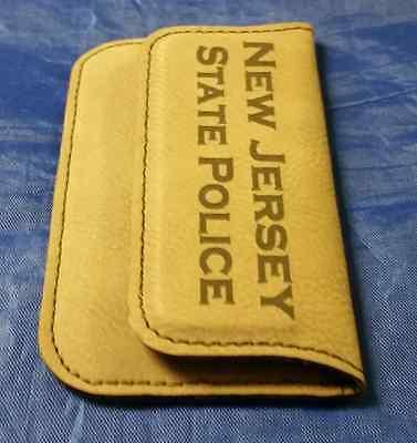 Njsp new jersey state police 45 dark brown leather business card njsp new jersey state police 45 dark brown leather business card holder reheart Choice Image