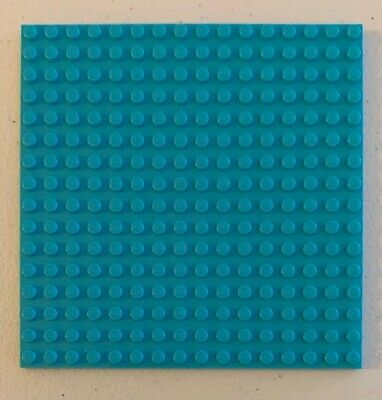 Preowned Quantity of 3 - You Pick The Color Lego 16x16 Studded Base Plates