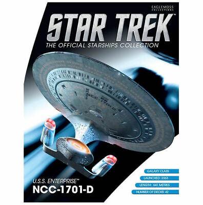 Star Trek USS Enterprise NCC-1701-D Ship - Best Of Eaglemoss Official Starships 7