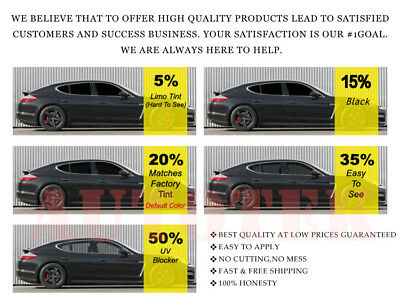 Pre Cut Window Tint All Sides /& Rears Any Shade VLT for ALL BMW PRECUT