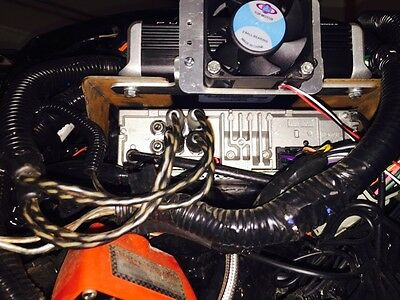 Amplifier Cooling Fan for 2014 and Newer Harley with Rockford Fosgate PBR400X4D or Pbr300x2 or Pbr300x4 Amp