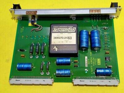 VMEbus NEI Control Systems Ltd. PCI1654 BCU POWER SUPPLY AVR6 3