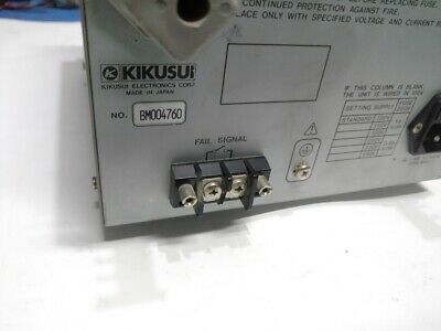 Kikusui Electronic Corporation TOS 5030 Withstanding Voltage Tester 5