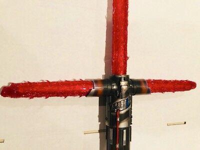 Star Wars Red Flame Blade Cover Supreme Leader Kylo Ren Lightsaber F. Fx Elite 9