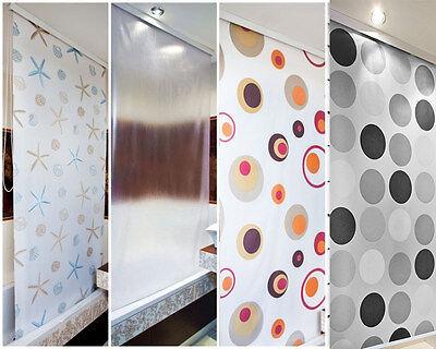 MODERN BATHROOM SHOWER Curtain Roller Blinds Extra Long Available, 5 ...