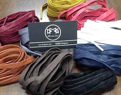 """44/"""" 110cm Oval Shoe laces for Tubular NMD R2 Ultra boost Air Max Flyknit Black"""