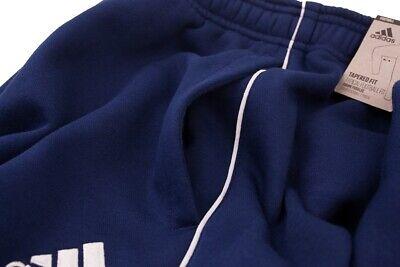 Adidas Core 18 Mens Fleece Tracksuit Jogging Bottoms Joggers Black Navy Grey 9