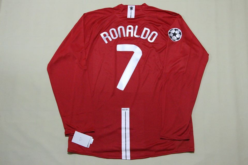 3ef9a2075d1 Manchester united 2008 champions league final moscow ronaldo jersey shirt  camisa 2 2 of 8 ...