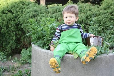 Kinderwathose  3KAMIDO PRO Kinder Wathose KROKODILE Hellgrün  Matschhose