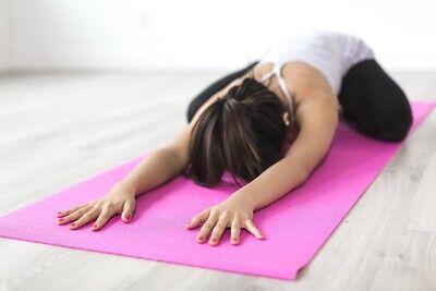 Esterilla para yoga gimnasia Colchoneta de fitness Pilates deporte colchón 6