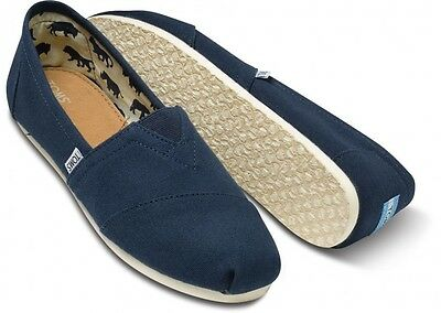 1c022b2cba7 3 of 10 New Authentic Womens Toms Classic Slip On Flats Canvas Shoes US  sizes