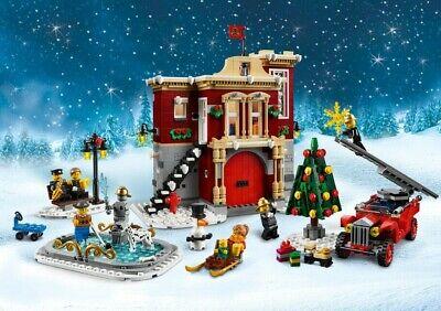 LEGO Creator Expert 10263 Winterliche Feuerwache Winter Village Fire Station NEU 4