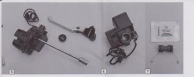 BMW R 850 R 1100 288 Hauptbremszylinder HBZ Handbremse Rep. Satz Reparatursatz