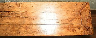 Antique Chinese Ming Bench (3273), Cypress Wood, Circa 1800-1849 12