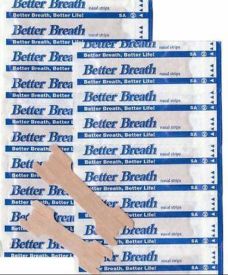 5 -200+2 Free Better Breath Nasal Strips Right Easy Stop Anti Snoring Uk Breathe 3