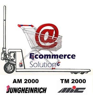 BOUCHON RESERVOIR HYDRAULIQUE TRANSPALETTE MANUEL MIC TM2000 TM 2000 ou HPS 2