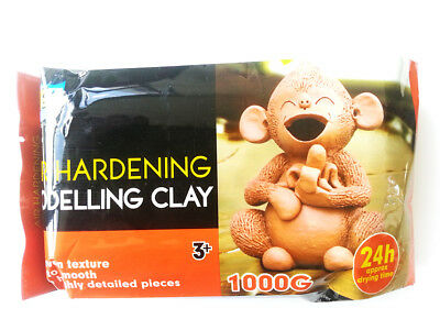 Assorted Air Modelling Clay AIR DRY CLAY White Terracotta Craft Art Supplier 2